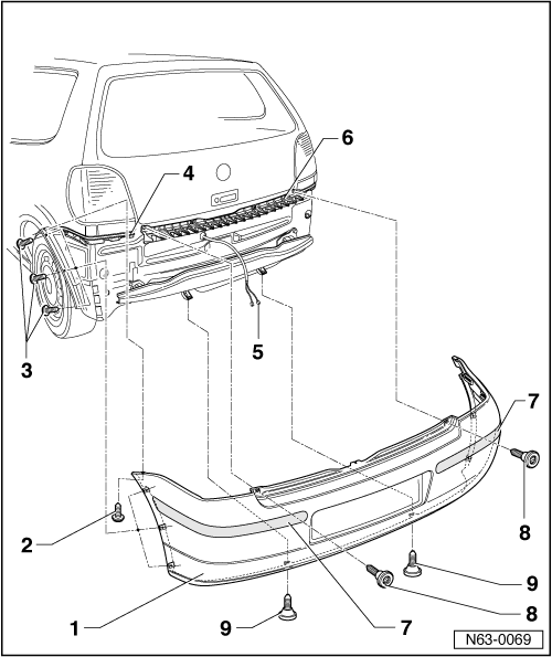 Volkswagen Workshop Manuals > Polo Mk3 > Body > General