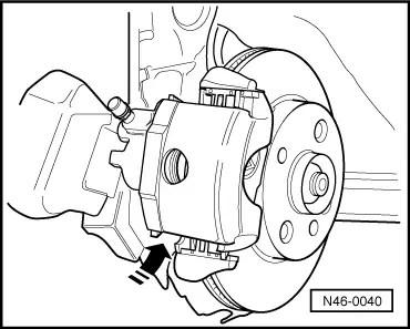 Volkswagen Workshop Manuals > Polo Mk3 > Brake systems