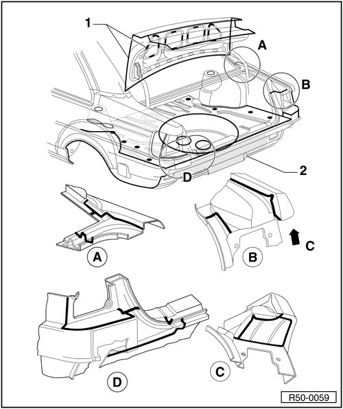 Volkswagen Workshop Manuals > Polo Mk4 > Body > Painting