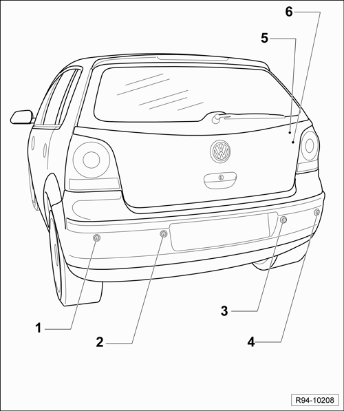 Volkswagen Workshop Manuals > Polo Mk4 > Vehicle electrics