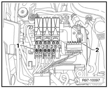 Volkswagen Workshop Manuals > Polo Mk4 > Vehicle electrics