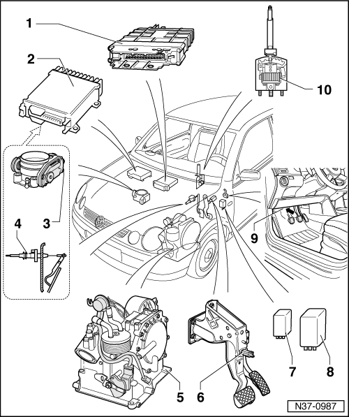 Volkswagen Workshop Manuals > Polo Mk4 > Power