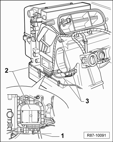 Zoemend geluid / doordraaiend motortje (climatronic