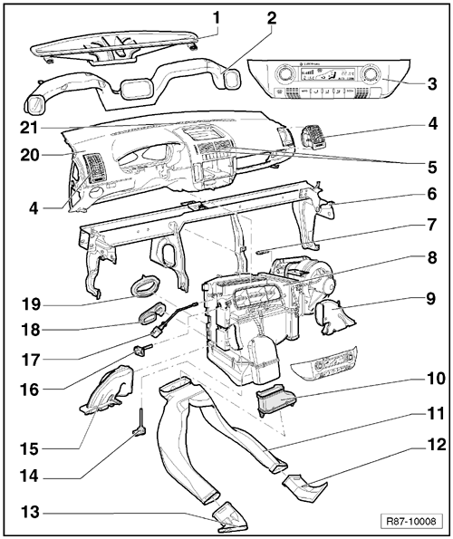 Volkswagen Workshop Manuals > Polo Mk4 > Heating