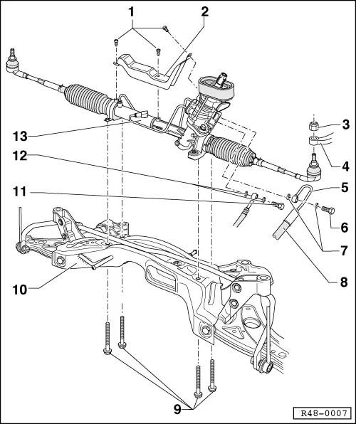 Volkswagen Workshop Manuals > Polo Mk4 > Running gear