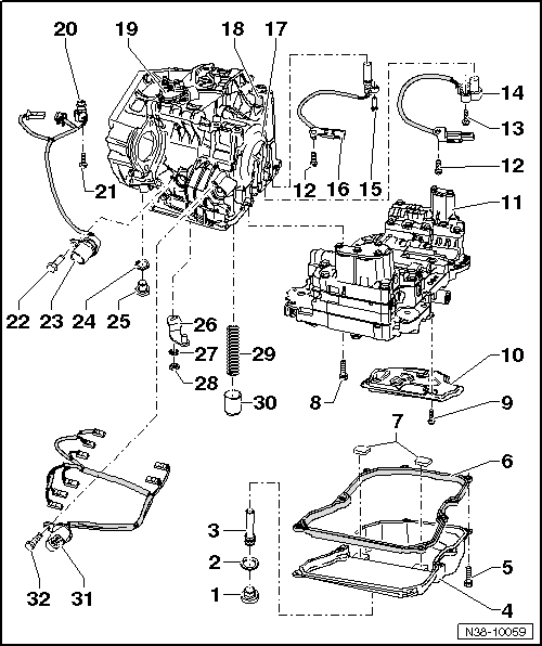 Volkswagen Workshop Manuals > Polo Mk5 > Power