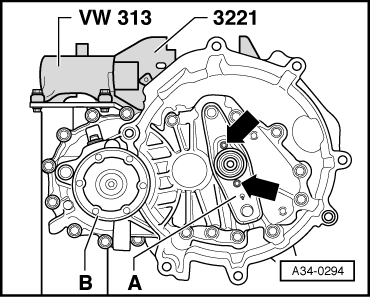 Volkswagen Workshop Manuals > Polo Mk5 > Power transmission > 6-speed manual gearbox 02U