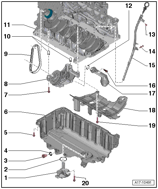 Volkswagen Workshop Manuals > Polo Mk5 > Power unit > 4