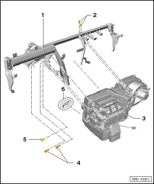 Volkswagen Workshop Manuals > Polo Mk5 > Heating