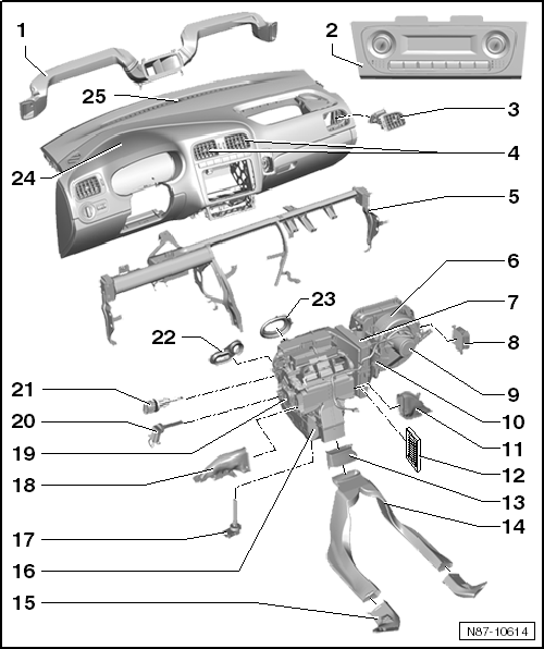 2006 Volkswagen Passat Air Conditioning Diagram