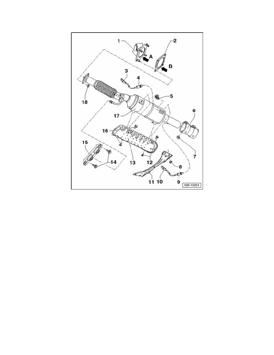 Volkswagen Workshop Manuals > Rabbit L5-2.5L (BGQ) (2008