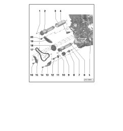 engine cooling and exhaust engine cylinder block assembly balance shaft chain component information service and repair balance shaft timing  [ 918 x 1188 Pixel ]