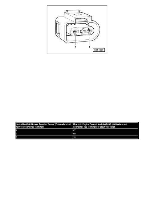 small resolution of engine cooling and exhaust engine intake manifold component information testing and inspection intake manifold runner control valve