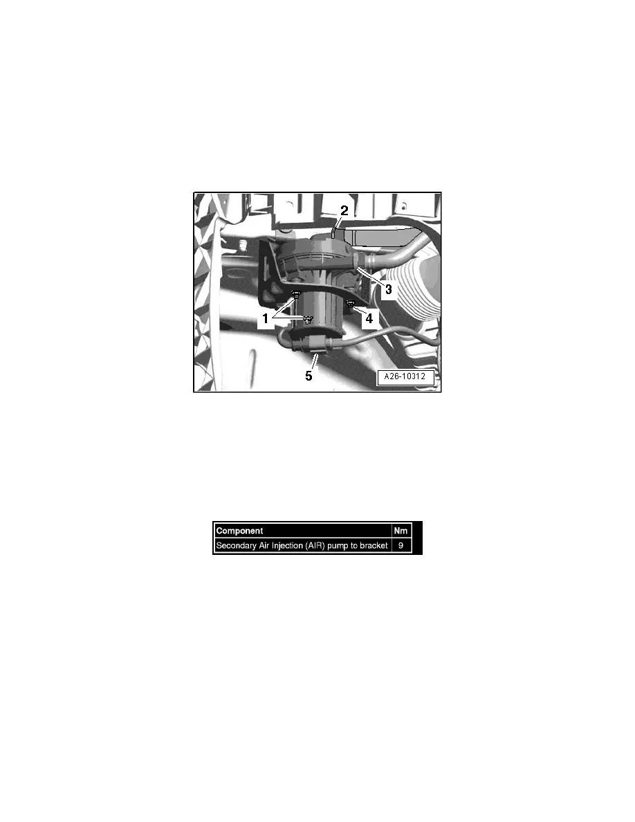 Volkswagen Workshop Manuals > Touareg V10-5.0L DSL Turbo