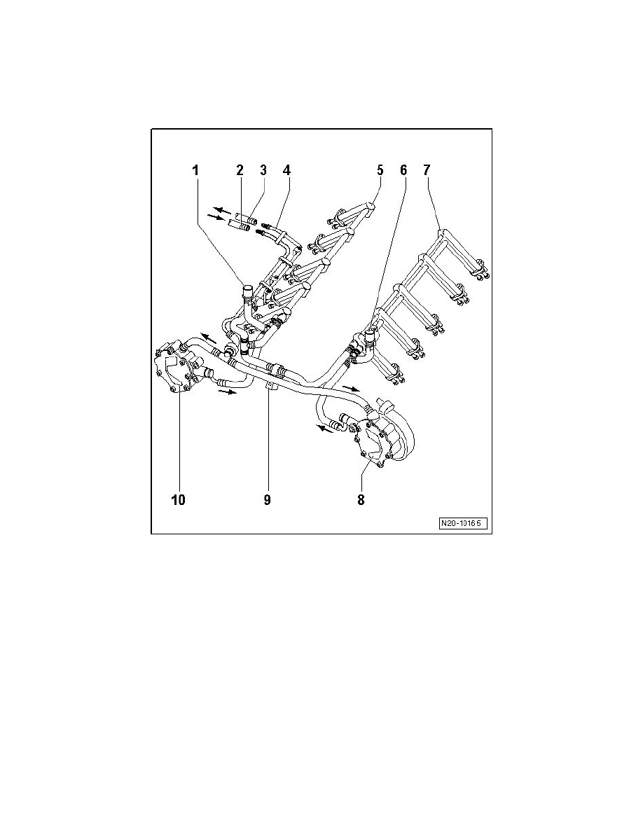 hight resolution of powertrain management fuel delivery and air induction fuel rail component information diagrams engine compartment fuel lines connection diagram