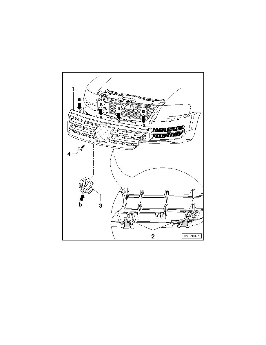Volkswagen Workshop Manuals > Touareg V10-5.0L DSL Turbo