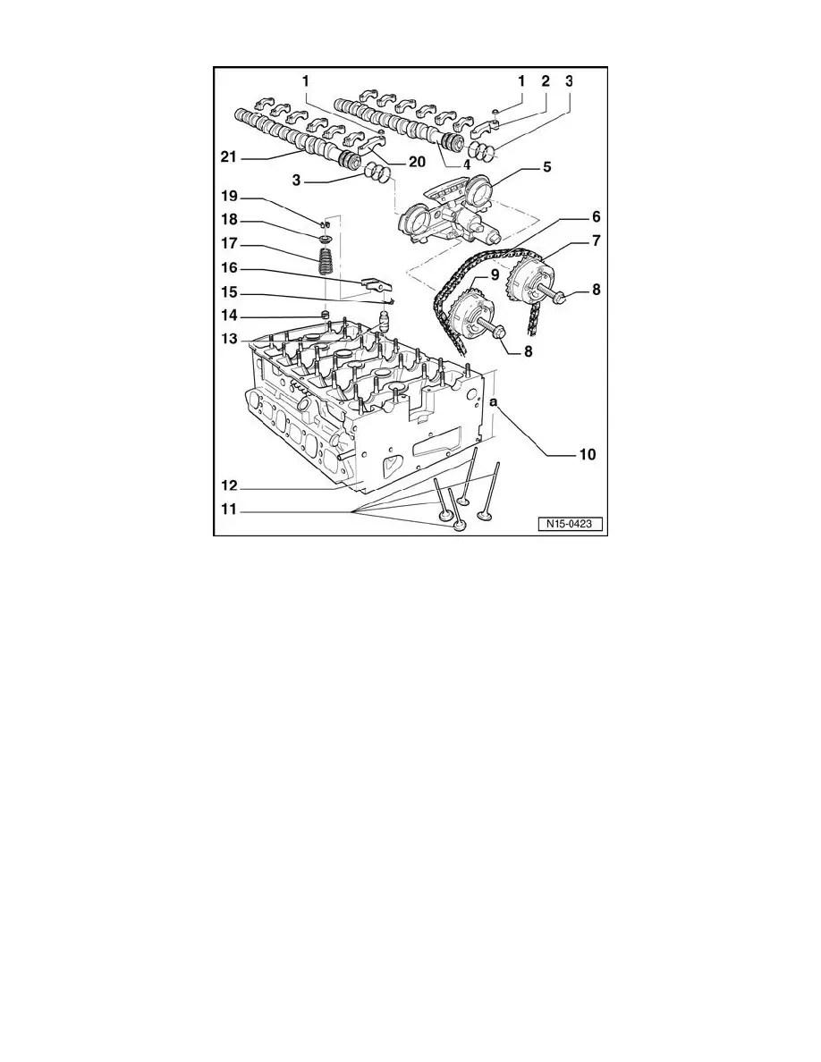 Volkswagen Workshop Manuals > Touareg V6-3.2L (BMX) (2005