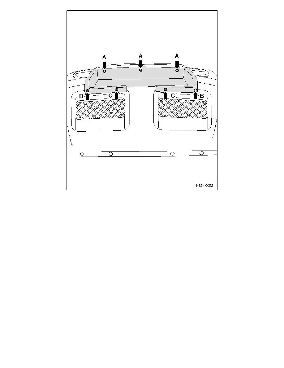 Volkswagen Workshop Manuals > Touareg V8-4.2L (AXQ) (2006