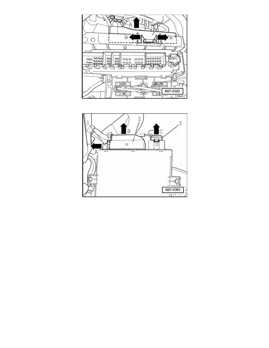 Volkswagen Workshop Manuals > Touareg V8-4.2L (BAR) (2007