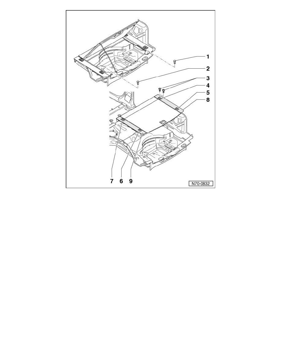 Volkswagen Workshop Manuals > Touareg V8-4.2L (BHX) (2004