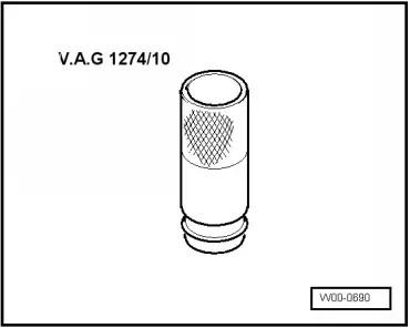 Volkswagen Workshop Manuals > Up! > Power unit > 3 cyl
