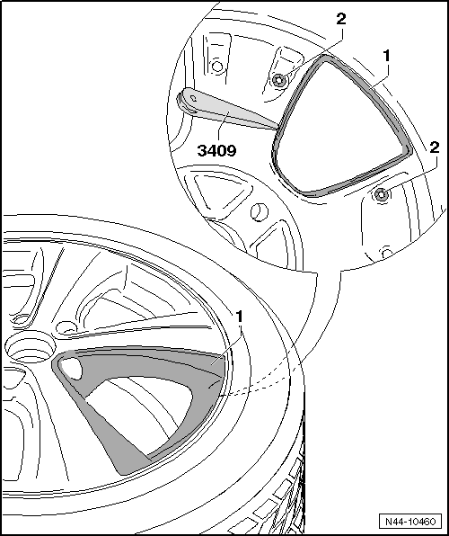 Volkswagen Workshop Manuals > Up! > Wheels and Tyres Guide