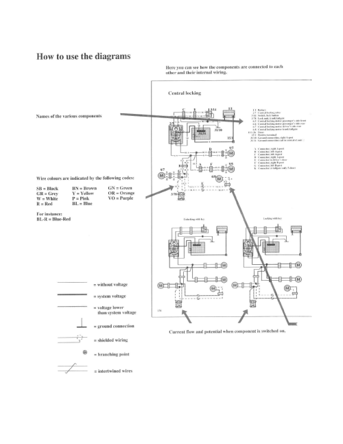 small resolution of volvo 740 1989 wiring diagrams modules relays and modules body and frame power door lock
