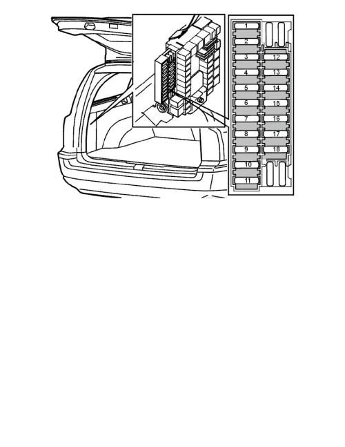 small resolution of volvo v70 fuse box removal wiring diagram schematics rh ksefanzone com volvo v60 2005 volvo v70