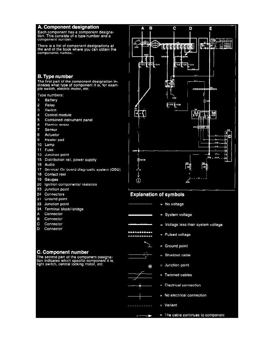 medium resolution of wrg 7447 1998 volvo s70 wiring diagram component identification 1998 volvo s70 wiring diagram component identification