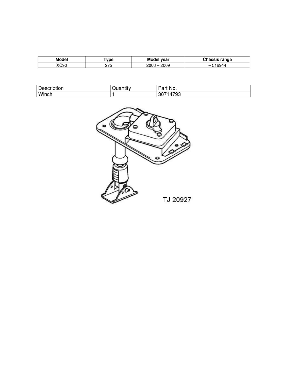 medium resolution of body and frame spare tire carrier component information service and repair