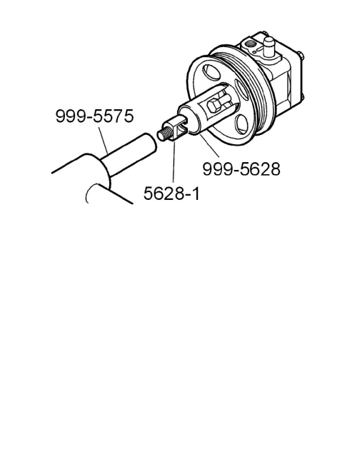 small resolution of steering and suspension steering power steering power steering pump component information service and repair power steering pump