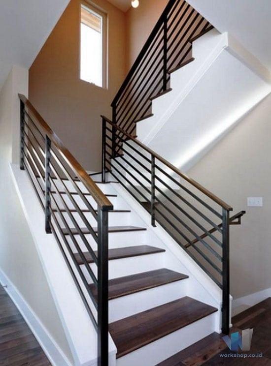 harga kanopi baja ringan atap polycarbonate model railing tangga pegangan kayu archives   ...