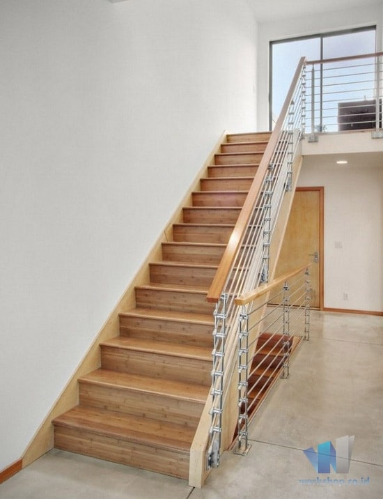 harga kanopi besi vs baja ringan model railing tangga pegangan kayu archives   ...