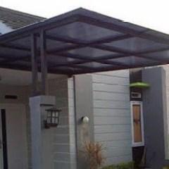 Harga Kanopi Baja Ringan Atap Polycarbonate Fiber Pagar Dan Teralis