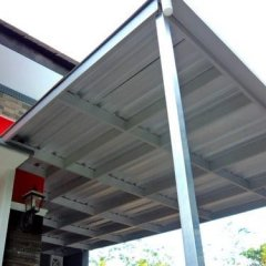 Pasang Atap Baja Ringan Cianjur Harga Kanopi Beserta Modelnya Sukabumi Bogor