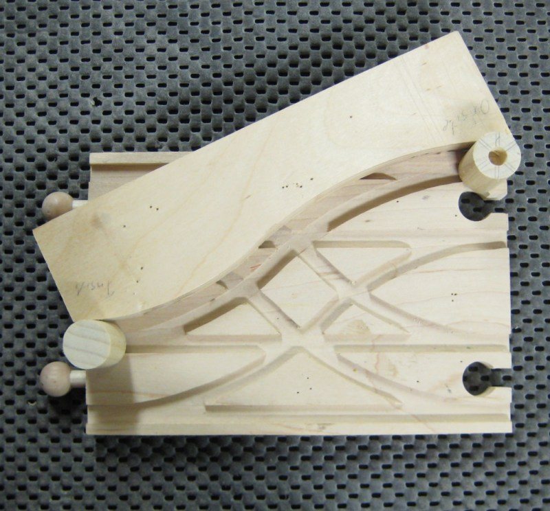 Correct way to position jig