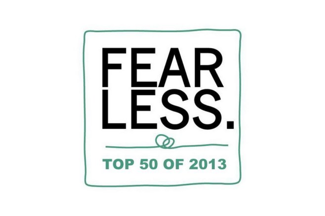 Top 50 Fearless awards 2013 Marian Sterea