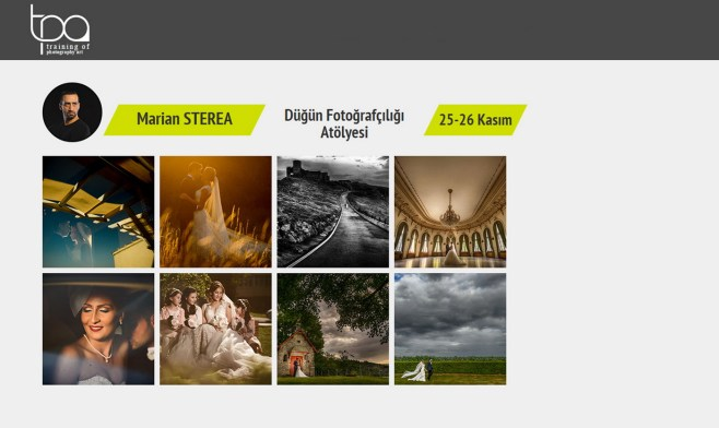 Wedding photography workshop Antalya