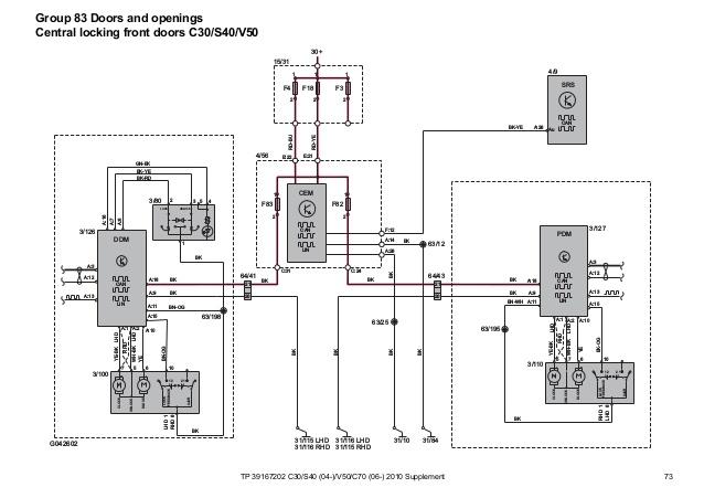 2007 Volvo C30 Wiring Diagram & Service Manual Download