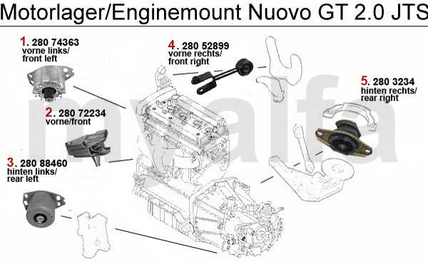 Download Alfa Romeo GT 2.0 JTS 2003-2010 Service Repair