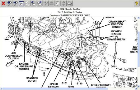 Download 2004 Chrysler Pacifica CS Factory Service Manual