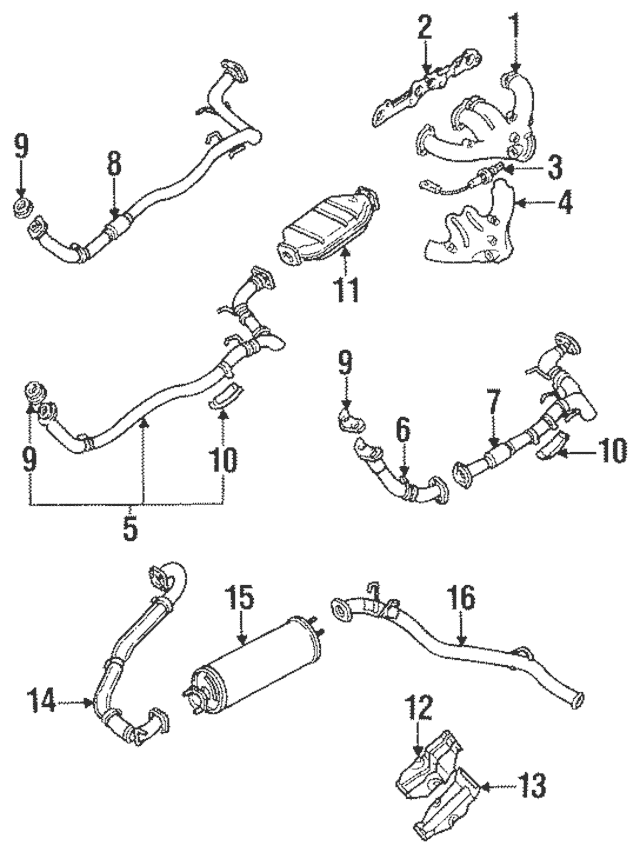 Download 1994 Isuzu Amigo Service & Repair Manual Software