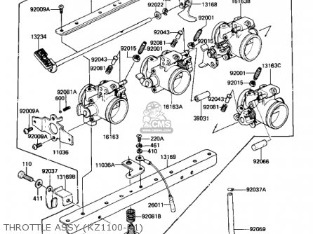 Kawasaki KZ1100-B1 1981 Service Repair Workshop Manual