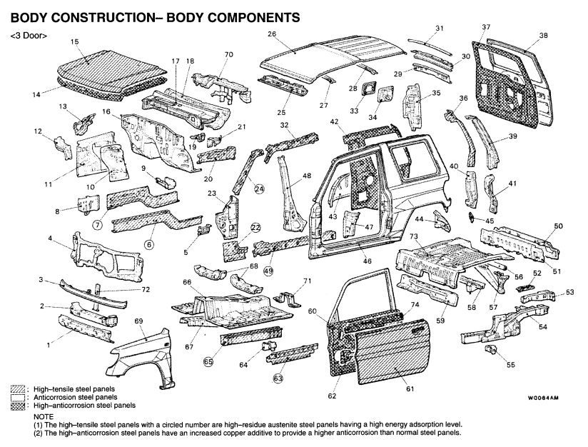 Download 1989-1993 MITSUBISHI GALANT FACTORY Service