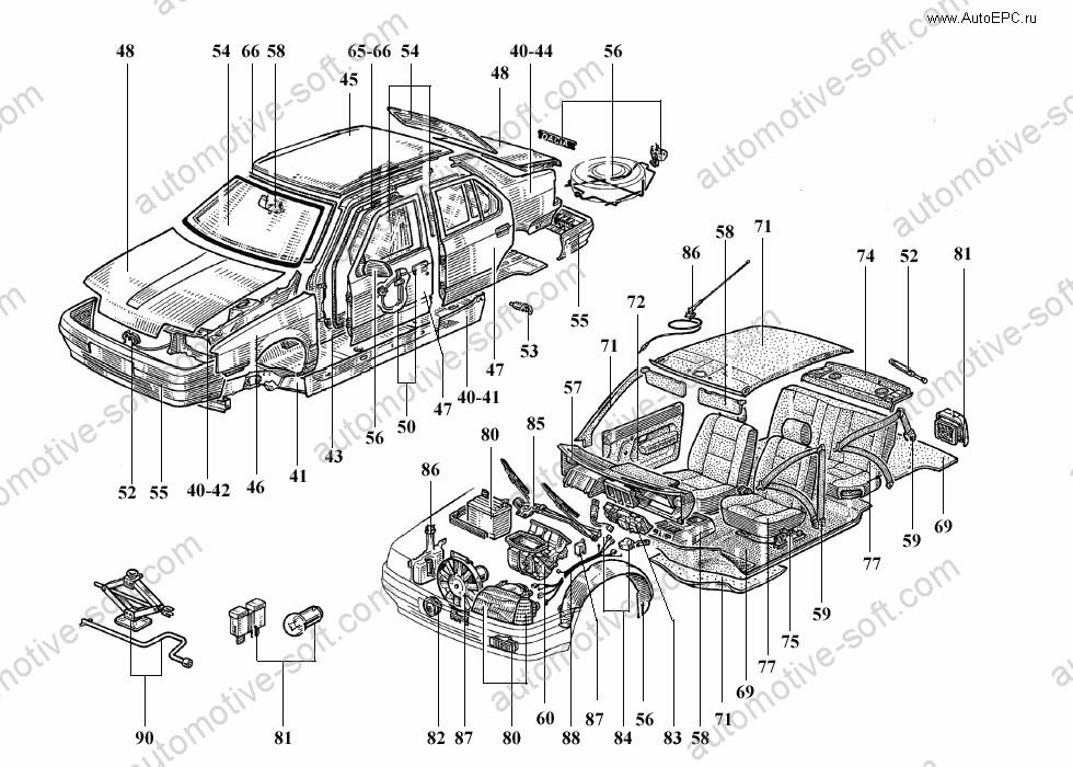 Download RENAULT LAGUNA Shop Manual 1995-2007