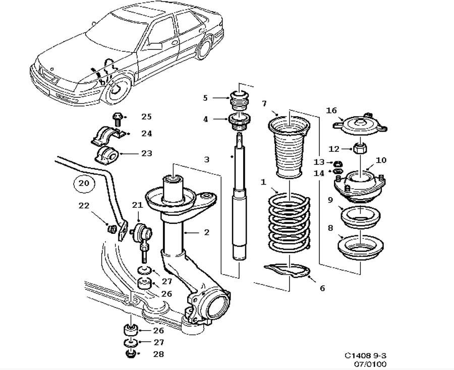 Download 2008 Saab 9-3 Service & Repair Manual Software