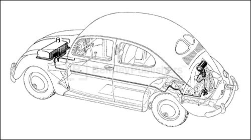 Download VOLKSWAGEN VW BEETLE 1200 TYPE 11 14 15 Repair