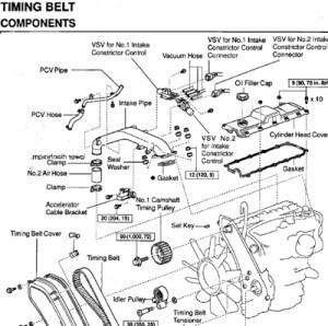 Toyota 1KZTE Diesel engine repair workshop manual NEW