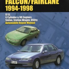Electrical Motorbike Bmw Wiring Diagram 4 Pin Relay Horn 31 Ford Falcon Fairlane Ef El Repair Manual 1994-1998 New - Sagin Workshop Car Manuals,repair Books ...