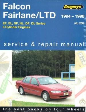 Ford Falcon Fairlane LTD 19941998 Gregorys Service Repair Manual  sagin workshop car manuals